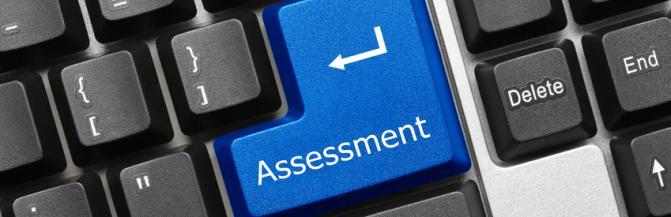 Assessment keyboard button
